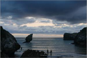 Working at Playa de Buelna, Asturias & The Atlantic (Spain, 2017)
