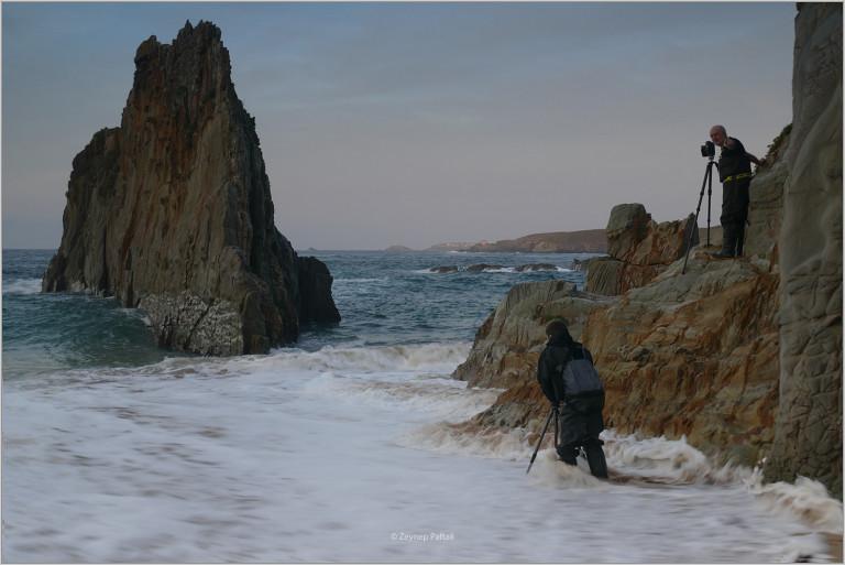 Working at Playa de Mexota, Asturias & The Atlantic (Spain, 2017)
