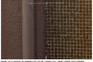 Nikon AF-S Nikkor 70-200mm f/4G ED VR | 70mm | Lower Left Corner | f/4