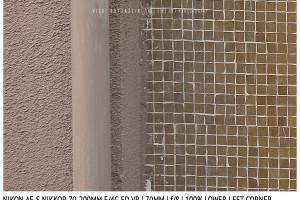 Nikon AF-S Nikkor 70-200mm f/4G ED VR | 70mm | Lower Left Corner | f/8