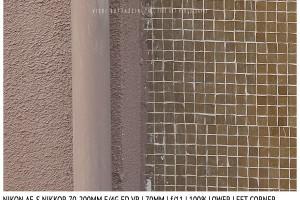 Nikon AF-S Nikkor 70-200mm f/4G ED VR | 70mm | Lower Left Corner | f/11