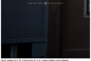 Zeiss 18mm Distagon T f/3.5 | Corner | f/4