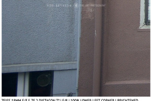 Zeiss 18mm Distagon T f/3.5 | Corner | Brightened | f/8
