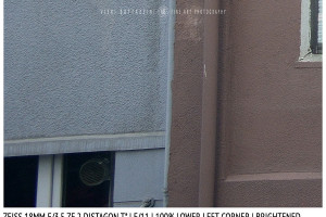 Zeiss 18mm Distagon T f/3.5 | Corner | Brightened | f/11