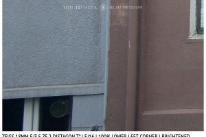 Zeiss 18mm Distagon T f/3.5 | Corner | Brightened | f/16