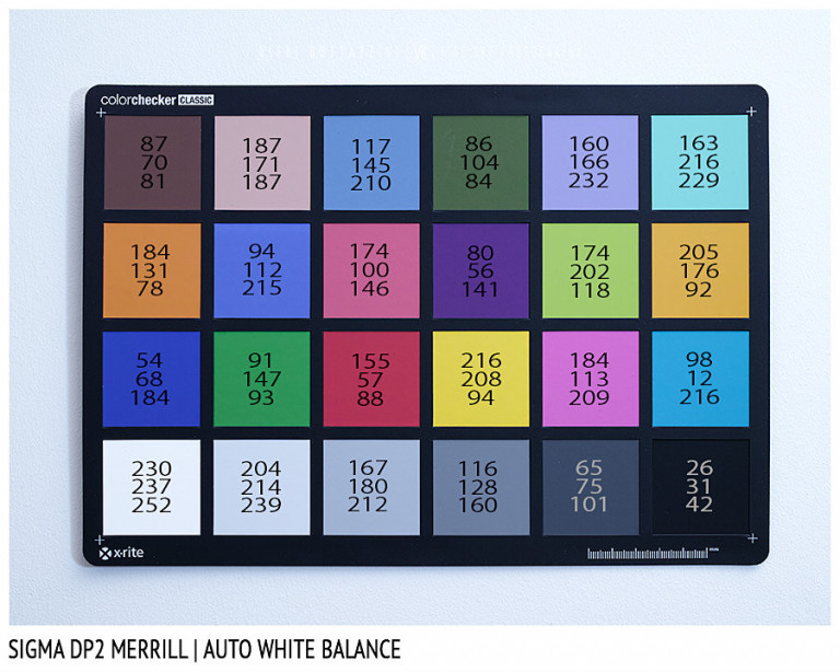 Sigma DP2 Merrill, AUTO White Balance
