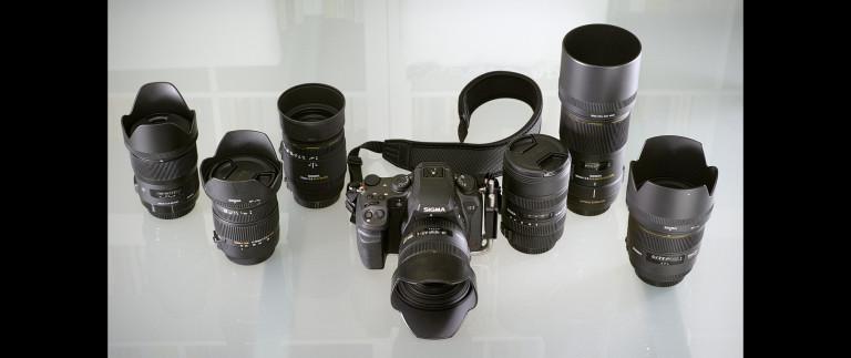The Sigma SD1 Merrill and Sigma lenses