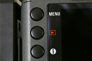 The Sigma SD1 Merrill's back left controls