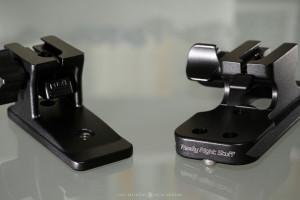 Nikon's original foot vs. RRS foot for the Nikkor 70-200mm f/2.8