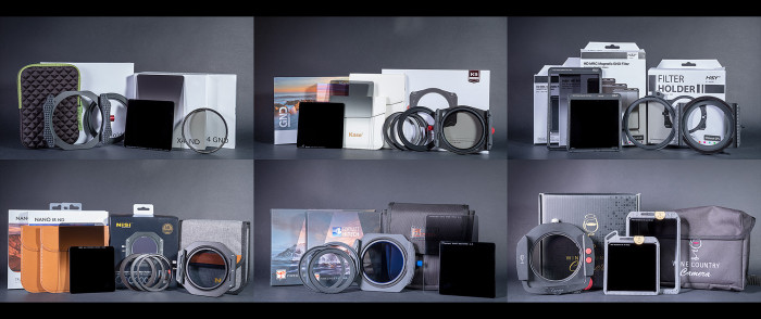 The Ultimate Filters Review, featuring Kase, NiSi, Breakthrough, Formatt-Hitech, H&Y, Wine Country Camera