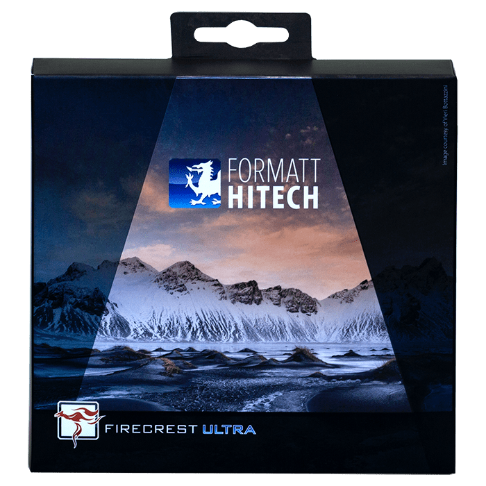 The new Firecrest Ultra packaging with Vieri's Vestrahorn (Iceland) photo!