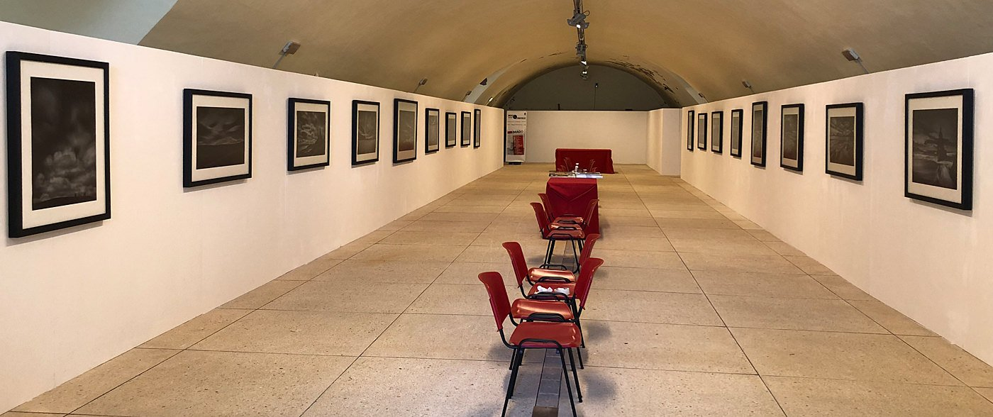 Vieri's Time (&) Matters exhibition at imagOrbetello