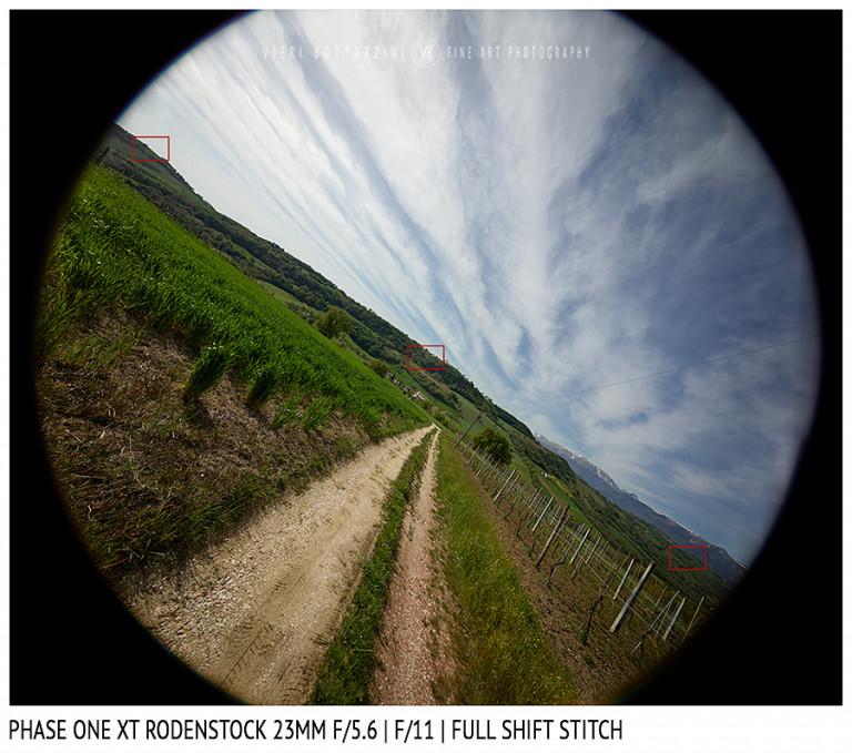 Phase One XT Rodenstock 23mm f/5.6 | Infinity | Full shift stitch | Full Image | f/11