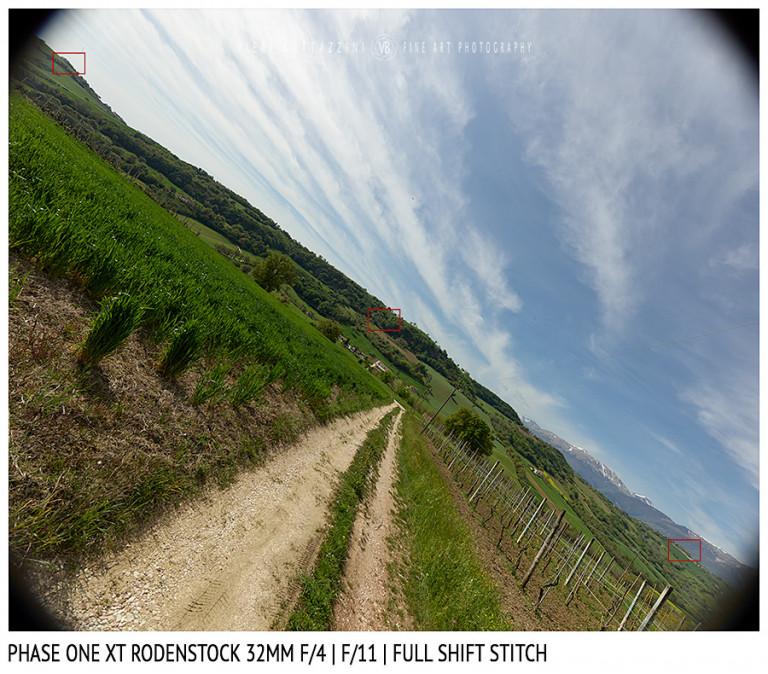 Phase One XT Rodenstock 32mm f/4 | Infinity | Full shift stitch | Full Image | f/11