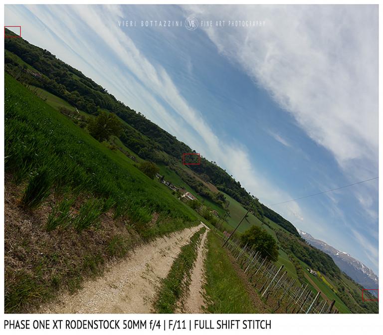 Phase One XT Rodenstock 50mm f/4 | Infinity | Full shift stitch | Full Image | f/11