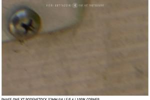 Phase One XT Rodenstock 32mm f/4 | Close Focus | Corner | f/5.6