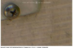 Phase One XT Rodenstock 32mm f/4 | Close Focus | Corner | f/11