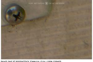 Phase One XT Rodenstock 32mm f/4 | Close Focus | Corner | f/16