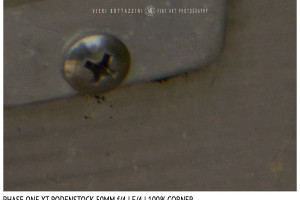 Phase One XT Rodenstock 50mm f/4 | Close Focus | Corner | f/4