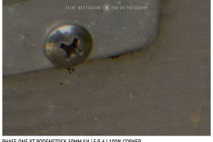 Phase One XT Rodenstock 50mm f/4 | Close Focus | Corner | f/5.6
