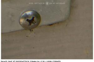 Phase One XT Rodenstock 50mm f/4 | Close Focus | Corner | f/8
