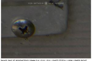 Phase One XT Rodenstock 50mm f/4 | Close Focus | Full shift stitch | Corner | f/11
