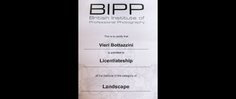 Vieri Bottazzini is a Qualified Licentiate of the BIPP!