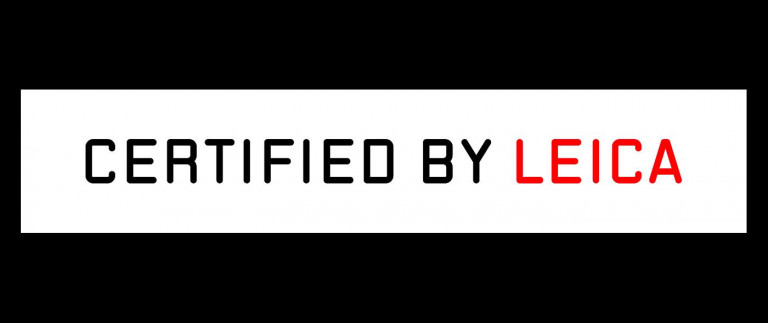 Certified by Leica