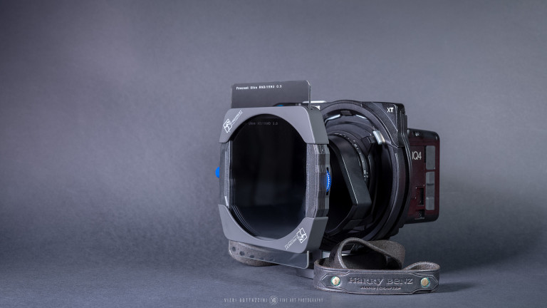Formatt-Hitech filters & holder on Phase One XT