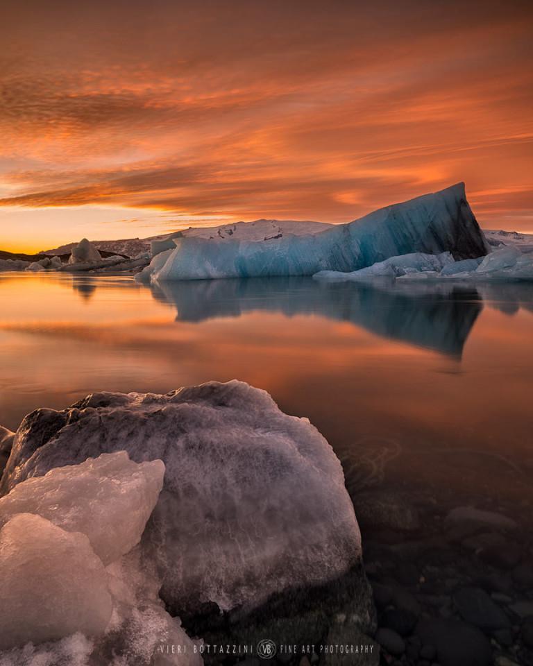 Glacial Lagoon at Jokulsarlon (Iceland, 2017)