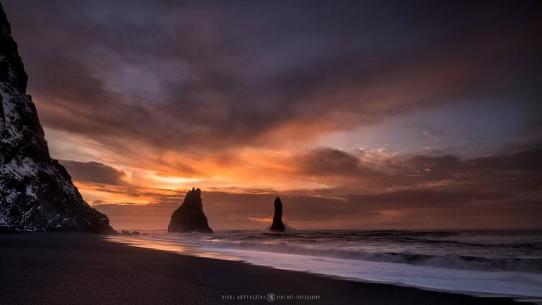Reynisfjara Beach (Iceland, 2018)