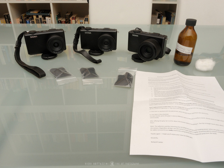 Applying France grip to the Sigma DP Merrill cameras