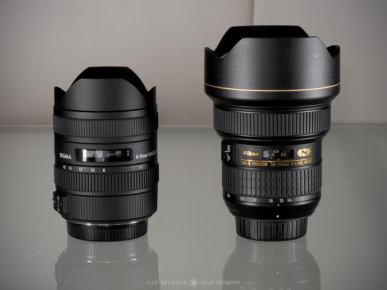 Nikon 14-24mm f/2.8 AF-s vs Sigma 8-16mm f/4.5-5.6