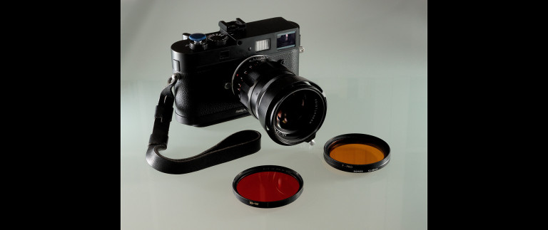 The Leica M Monochrom & colour filters