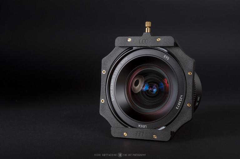 Voigtlander 15mm Super-Wide Heliar modified with filter holder