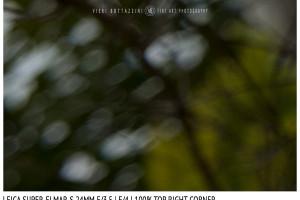 Leica Super-Elmar-S 24mm | Top Right | f/4