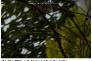 Leica Super-Elmar-S 24mm | Top Right | f/16