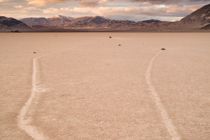 The Racetrack, Death Valley (USA, 2017)