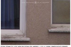 Sigma 35mm f/1.4 DG HSM | Lower Right Corner | f/1.4