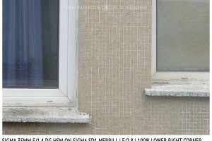 Sigma 35mm f/1.4 DG HSM | Lower Right Corner | f/2.8