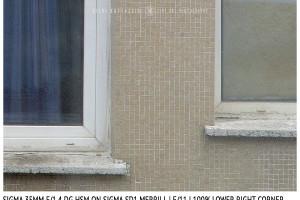 Sigma 35mm f/1.4 DG HSM | Lower Right Corner | f/11