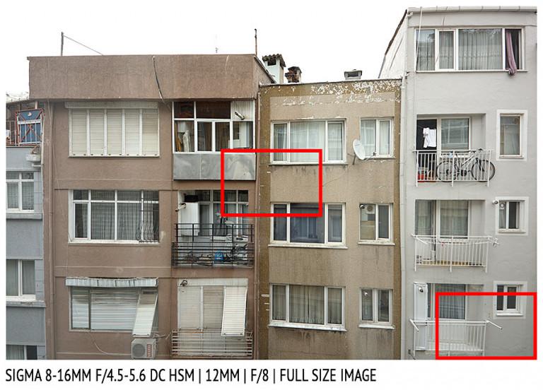 Sigma 8-16mm f/4.5-5.6 DG HSM | 12mm | Full Image | f/8