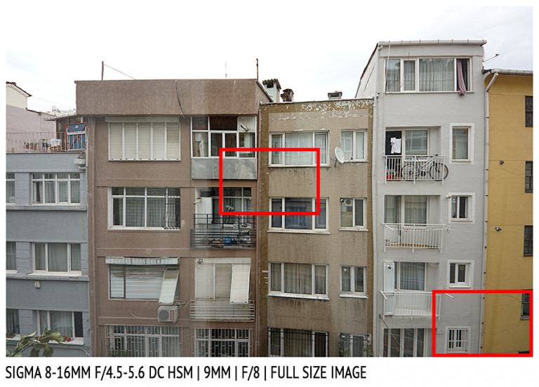 Sigma 8-16mm f/4.5-5.6 DG HSM | 9mm | Full Image | f/8