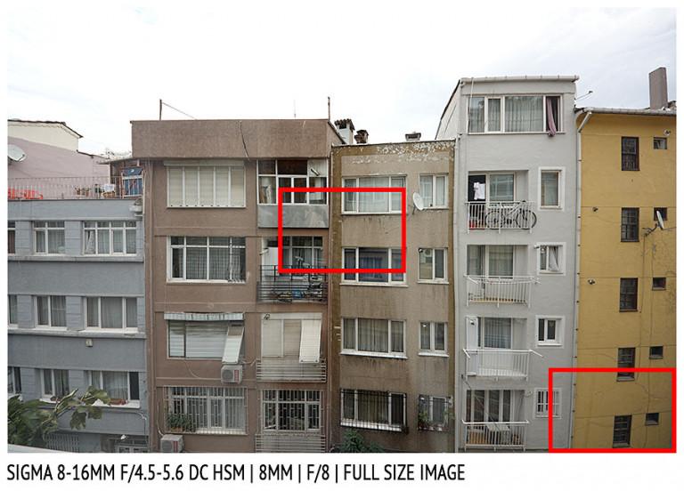 Sigma 8-16mm f/4.5-5.6 DG HSM | 8mm | Full Image | f/8