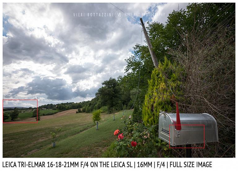Leica Tri-Elmar-Elmar 16-18-21mm f/4 | 16mm | Close Focus | Full Image | f/4