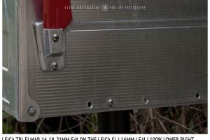 Leica Tri-Elmar-Elmar 16-18-21mm f/4 | 16mm | Close Focus | Point of Focus | f/4