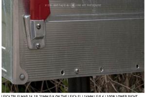 Leica Tri-Elmar-Elmar 16-18-21mm f/4 | 16mm | Close Focus | Point of Focus | f/5.6