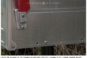 Leica Tri-Elmar-Elmar 16-18-21mm f/4 | 16mm | Close Focus | Point of Focus | f/11