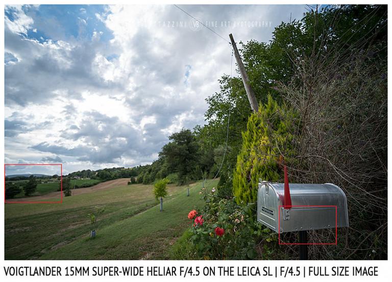 Voigtlander 15mm Super-Wide Heliar f/4.5 v. III | Close Focus | Full Image | f/4.5