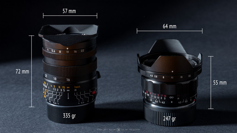 Leica Tri-Elmar 16-18-21mm f/4 & Voigtlander Super Wide-Heliar 15mm III
